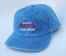 "Vintage ""WAITE True Value HOME CENTER"" One Size Fits All Snapback Baseball Cap"