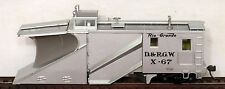 MOW TRAINS HO Walthers RIO GRANDE Russell SNOWPLOW #67 Work Train MWKD5 IOB