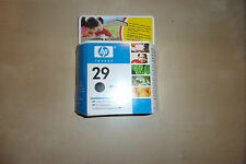 GENUINE HP 29 HP29 BLACK PRINTER INK CARTRIDGE EXPIRED DATE