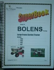 Bolens 1250 1455 1476 1477 Owner Service Parts Manuals (18 BOOKS) Garden Tractor