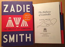The Embassy of Cambodia, Zadie Smith 1st/1st , SIGNED NEW