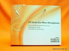 Ear Worn Microphone Point Source CO-7-AT-BE for AUDIO TECHNICA TRANSMITTER PACK
