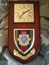 RLC Royal Logistic Corps Regimental Military Wall Plaque & Clock