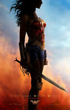 "Wonder Woman 2017 Advance Mini Poster 11""x17"" - Free Shipping"