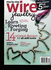 BACK ISSUE  STEP BY STEP WIRE JEWELRY MAGAZINE   FEB. / MARCH 2010