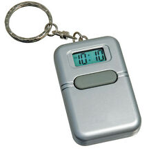 Talking Keychain Pocket Watch  for the Blind, Spanish - Speaks Current Time