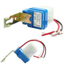 Auto On Off Street Light Photoswitch Sensor Switch Photocell DC AC 10A 12V New