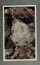 1931 Bournemouth England Postcard Postage Due cover to USA Wentnor 7 Waterfalls