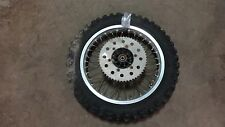 1981 suzuki rm250 S638~ rear wheel rim w 53t sprocket 18""
