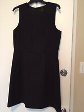 NWT Theory Arila Quartet Shift Dress Black $260 – Size 12