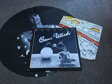 DONOVAN - COSMIC WHEELS - 1973 LP WITH COLOUR INNER SLEEVE & CIRCULAR POSTER