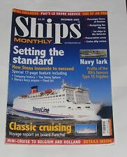 SHIPS MONTHLY DECEMBER  2005 - STENA/RN'S TYPE 15 FRIGATES/FUNCHAL