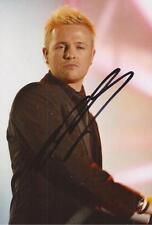 WESTLIFE: NICKY BYRNE SIGNED 6x4 ACTION PHOTO+COA *FLYING WITHOUT WINGS*