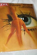 Original 70er Jahre ARWA Nylons Strumpfhose Gr. 54 Orange Baltic 20 Den Vintage