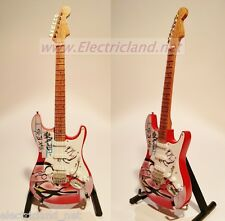 Mini Guitar Gilmour PINK FLOYD Stratocaster THE WALL chitarra tribute gitarren