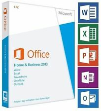 Microsoft Office Home and Business 2013✔1PC✔Produkt Key✔ESD✔32&64 Bit✔