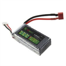 Lion Power 11.1V 1500Mah 35C MAX 60C 3S Lipo Battery For RC Car Helicopter US