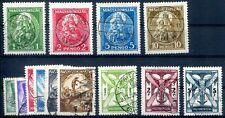 UNGARN 1933 502-510,484-487 gest TADELLOS 280€(Z1942