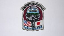 US MILITARY FLIGHT SQUADRON PATCH REFLECTION OF EXCELLENCE SMOOTH AS GLASS 01-10
