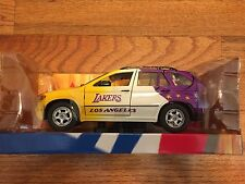 Los Angeles Lakers 1/24 Scale Fleer NBA Diecast BMW X5 Basketball Collectible