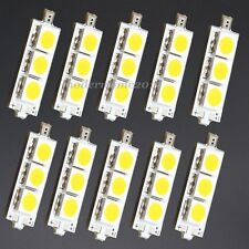 10pcs 5050 Square Warm White SMD LEDs Lamp Beads 9V Yellow Pale