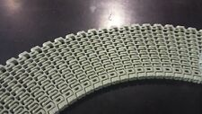 "Habasit KVP IS610 Gray Acetal 6"" wide x 120"" Radius 1"" pitch (120 Rows) plastic"
