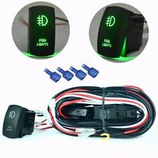 3 Meter 40A Wiring Harness Rocker Switch On/Off Relay Fuse Boat Fog Light ATV