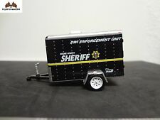 Greenlight Small Cargo Trailer Boone County Sheriff - Open Item 100% Mint