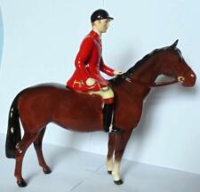 BESWICK HUNTSMAN ON BROWN HORSE MODEL 1501