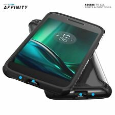POETIC Affinity Shockproof Case TPU Cover for Moto G Play / G4 Play Black NEW