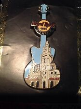 HRC Hard Rock Cafe Munich Building Core Guitar Pin 2011