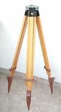 Tripod Wood Vintage Lamp Theodolite lamps instruments Astronomy Geodesy Level
