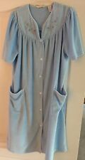 NEW Jasmine Rose Womens Floral Collar Blue Nightgown Size XL/TG $44.