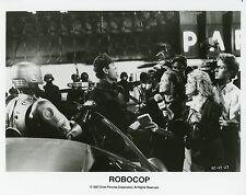 PETER WELLER  ROBOCOP  1987 VINTAGE PHOTO ARGENTIQUE N°4 PAUL VERHOEVEN