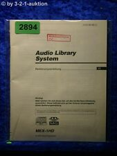 Sony Bedienungsanleitung MEX 1HD Audio Library System (#2894)