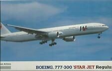 HASEGAWA 1:200 KIT JAPAN AIRLINES BOEING 777 300 STAR JET REGULUS 10127 LT27