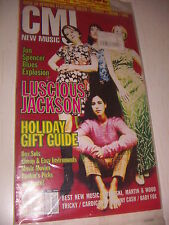 CMJ NEW MUSIC LUSCIOUS JACKSON HOLIDAY GIFT GUIDE  - COMPACT DISC INSIDE