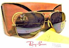SUNGLASSES RAY-BAN NOS VINTAGE B&L AVIATOR TORTUGA OUTDOORSMAN II L1712 *TGM NEW