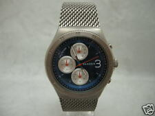 Authentic Skagen Jannik Blue Dial SKW6154 Chronograph Mesh Bracelet Men's Watch