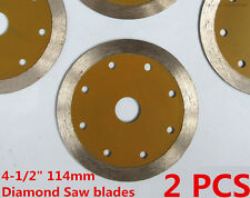 "4-1/2 "" inch Wet Dry Diamond Saw blade Stone Granite Concrete Cutting Wheel disc"