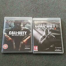 Call of duty black ops & black ops 2 jeux PS3 avec mode zombie