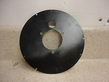 """Plastic Movement / Dial Mounting Plate For 6"""" Chelsea Ships Clock Phenolic Case"""