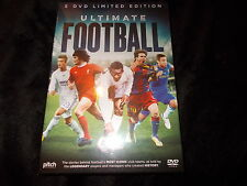 NEW SEALED 5 DVD BOX SET Limited Edition ULTIMATE FOOTBALL Pele Messi Beckham +