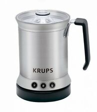 KRUPS XL2000 Electric Milk Frother With Cappuccino Latte And Hot Milk Features,
