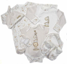 Tiny Baby Seven Piece Layette Sleepsuit Vest Bib Mitts etc Ideal for Early Baby