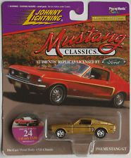 Johnny Lightning - ´68 / 1968 Ford Mustang GT goldmet. Neu/OVP