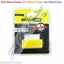 Universal Petrol Nitro OBD2 Performance Chip Mod Tuning Box Plug & Racing Cars