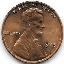 United States Unc 1975-P Lincoln Memorial Cent~Free Shipping