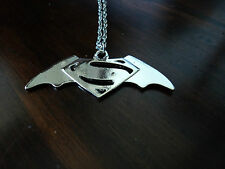 New Batman Vs Superman Dawn of Justice Pendant Necklace Chain Jewellery DC Movie