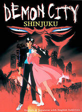 Demon City Shinjuku (DVD, 2003) anime NEW DVD FREE SHIPPING